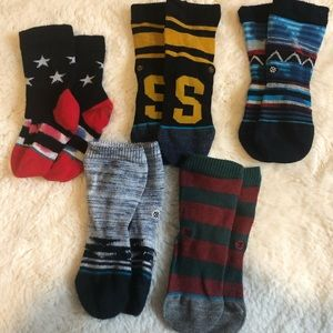 Other - Set of 5 pairs designer toddler socks